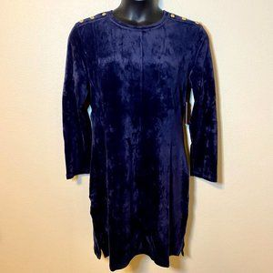 NWT Juicy Couture Track Velour Dress -  Size XL